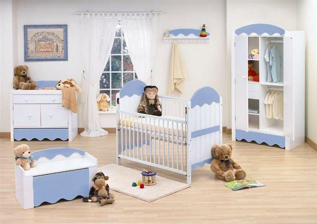 Baby Room Furniture in Blue
